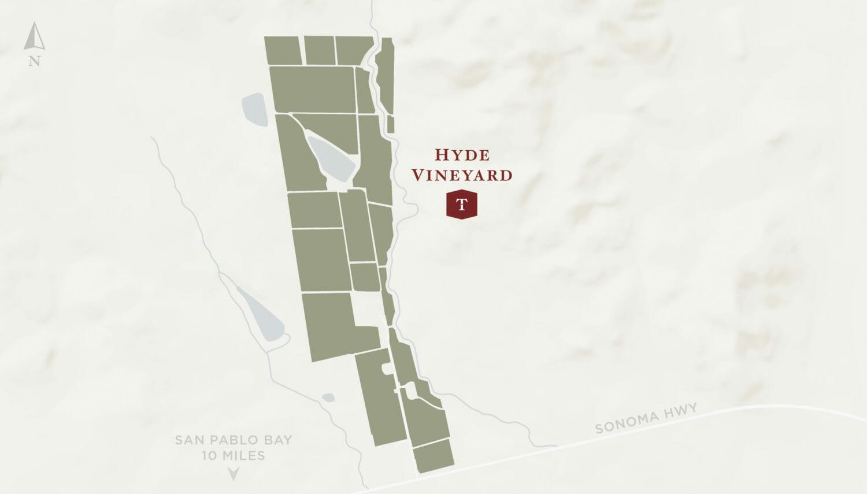 Hyde Vineyard map